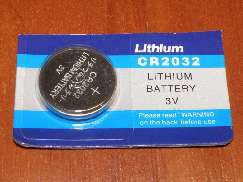 Батарейк CR2032
