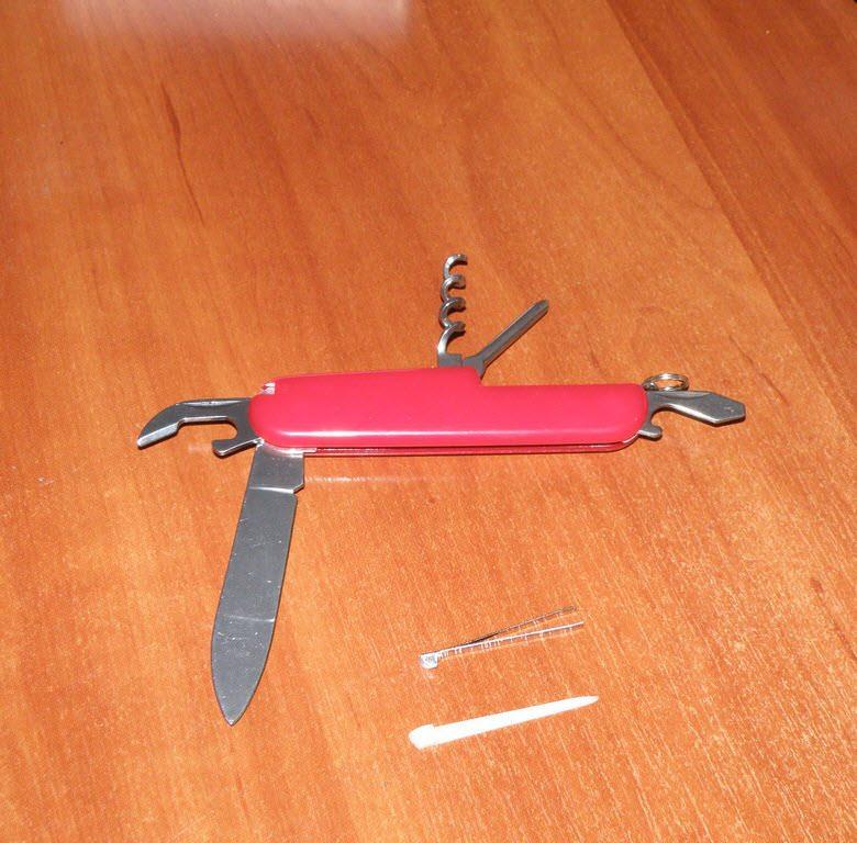 Многофункциональный швейцарский нож