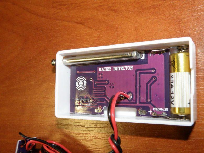 Датчик протечки воды для GSM сигнализации