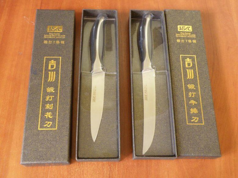 Кухонные ножи из нержавеющей стали 7Cr13 (440c)