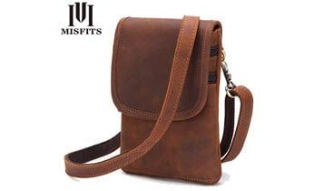 Красивая и удобная мужская кожаная сумка. • Мои покупки
