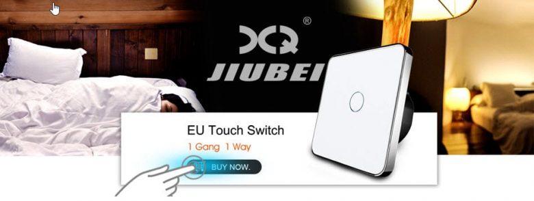 Сенсорный выключатель Jiubei