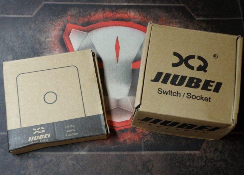 Сенсорный выключатель Jiubei. Упаковка.