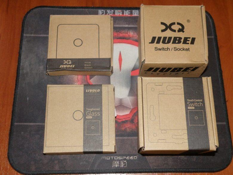 Сенсорный выключатель Jiubei. Сравнение.