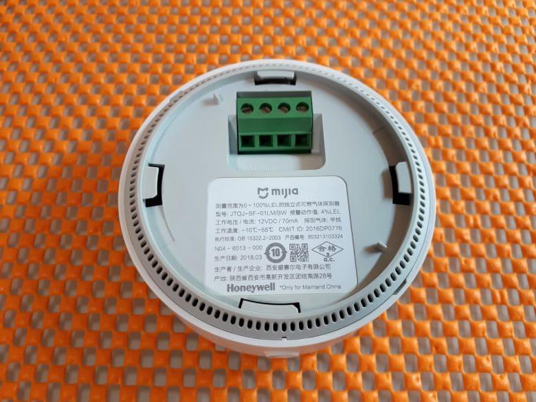 Датчик утечки газа Xiaomi Mijia Honeywell Gas Alarm