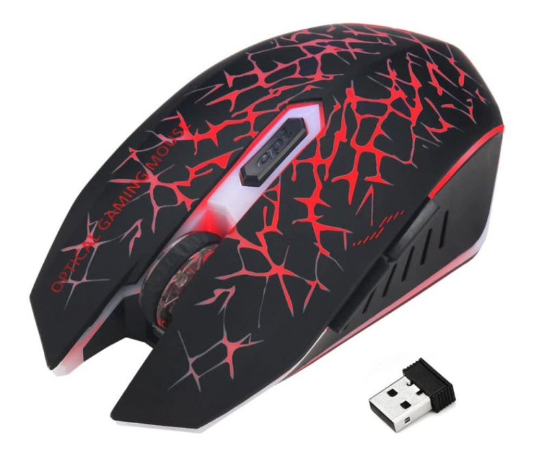 Беспроводная аккумуляторная мышь