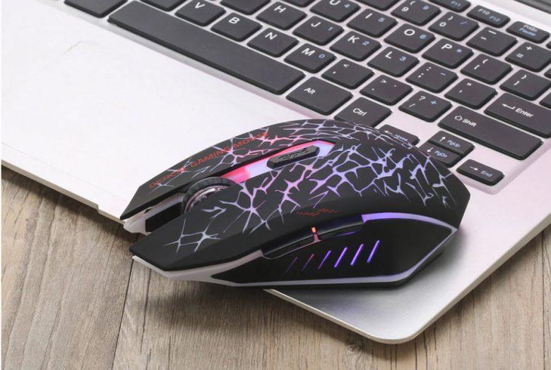 беспроводная аккумуляторная мышка