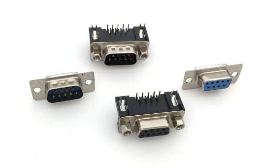 DB9-F,  DB9-M,  DR9-F, DR9-M