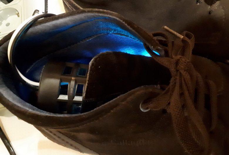 работа стерилизатора для обуви ATWFS