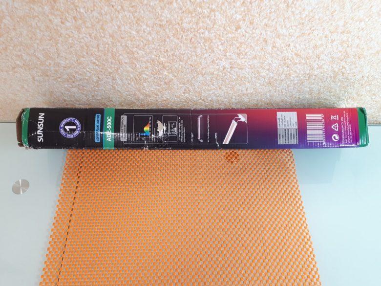Упаковка светильника для аквариумов SunSun