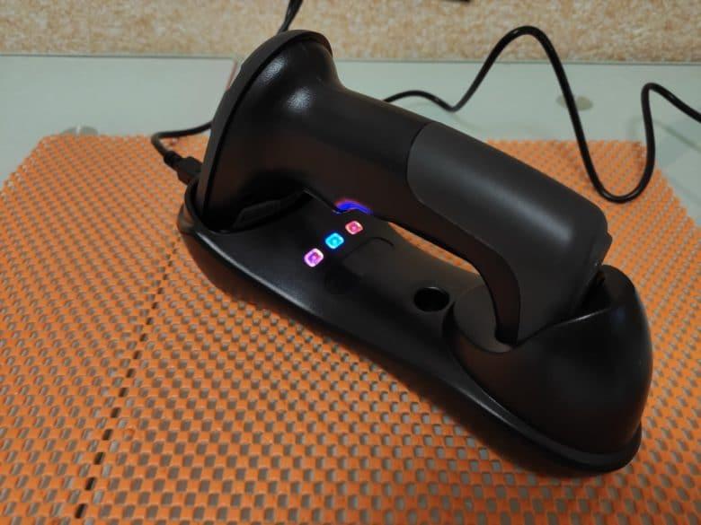 Беспроводной сканер штрихкода RADALL RD-H6