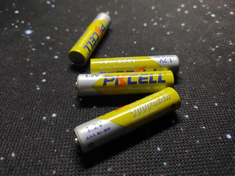аккумуляторы PKCELL 1,2В 1000 мА*ч NiMh AAA